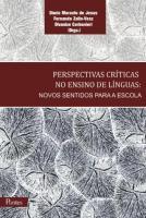 PERSPECTIVA CRITICAS NO ENSINO DE LINGUAS - NOVOS