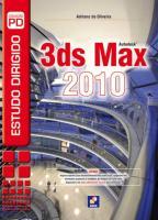 ESTUDO DIRIGIDO DE 3DS MAX 2010
