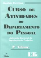 CURSO DE ATIVIDADES DE DEPARTAMENTO PESSOAL - V. 2