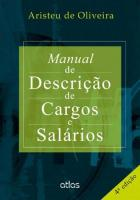 MANUAL DE DESCRICAO DE CARGOS E SALARIOS