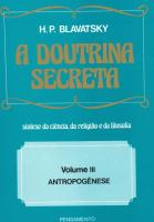 DOUTRINA SECRETA, A - V. 3