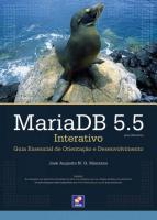MARIA DB 5.5 INTERATIVO - GUIA ESSENCIAL DE ORIENT
