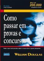 COMO PASSAR EM PROVAS E CONCURSOS - TUDO QUE VOCE