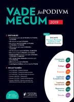 VADE MECUM JUSPODIVM 2019