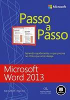 MICROSOFT WORD 2013 PASSO A PASSO