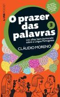 PRAZER DAS PALAVRAS, O - V.3