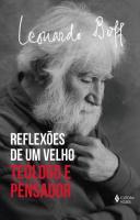 REFLEXOES DE UM VELHO TEOLOGO - TEOLOGO E PENSADOR