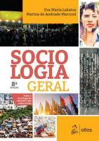 SOCIOLOGIA GERAL