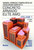 CONCRETO ARMADO - V. 01 - EU TE AMO