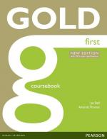 GOLD FIRST - COURSEBOOK - EXAM ESPECIFICATIONS