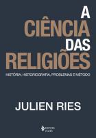 CIENCIA DAS RELIGIOES, A - HISTORIA, HISTORIOGRAFI