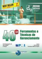 40+20 - FERRAMENTAS E TECNICAS DE GERENCIAMENTO