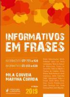 INFORMATIVOS DO STF E STJ EM FRASES