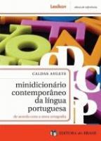 MINIDICIONARIO CONTEMPORANEO DA LINGUA PORTUGUESA