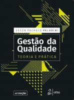 GESTAO DA QUALIDADE - TEORIA E PRATICA