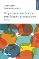 DO PENSAMENTO CLINICO AO PARADIGMA CONTEMPORANEO