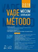 VADE MECUM METODO LEGISLACAO (CAPA AZUL)