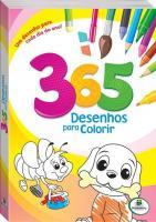 365 DESENHOS PARA COLORIR - VERDE