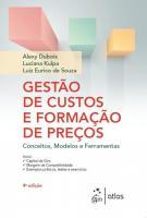 GESTAO DE CUSTOS E FORMACAO DE PRECOS - CONCEITOS,
