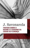 TRATADO SOBRE O REGIME E O GOVERNO DA CIDADE DE FL