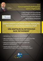 GERENCIAMENTO DE PROJETOS DE INOVACAO, PESQUISA E