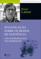 INVESTIGACOES SOBRE OS MODOS DE EXISTENCIA