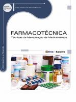 FARMACOTECNICA - TECNICAS DE MANIPULACAO DE MEDICA