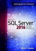 MICROSOFT SQL SERVER 2016 - EXPRESS EDITION INTERA