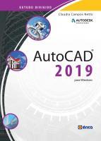 ESTUDO DIRIGIDO DE AUTOCAD 2019
