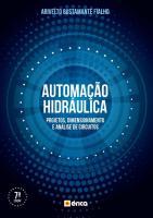 AUTOMACAO HIDRAULICA - PROJETOS, DIMENSIONAMENTOS