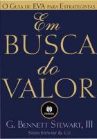 EM BUSCA DO VALOR - O GUIA DE EVA PARA ESTRATEGIST