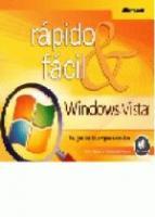 WINDOWS VISTA - RAPIDO & FACIL