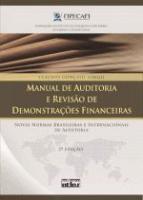 MANUAL DE AUDITORIA E REVISAO DE DEMONSTRACOES FIN