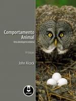 COMPORTAMENTO ANIMAL - UMA ABORDAGEM EVOLUTIVA