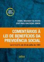 COMENTARIOS A LEI DE BENEFICIOS DA PREVIDENCIA SOC