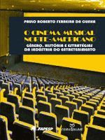 CINEMA MUSICAL NORTE-AMERICANO, O