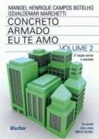 CONCRETO ARMADO - V. 02 - EU TE AMO