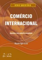 COMERCIO INTERNACIONAL - QUESTOES DE CONCURSOS COM