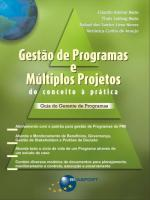 GESTAO DE PROGRAMAS E MULTIPLOS PROJETOS - DO CONC
