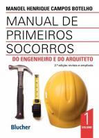 MANUAL DE PRIMEIROS SOCORROS DO ENGENHEIRO E DO AR