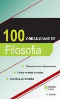 100 OBRAS-CHAVE DE FILOSOFIA
