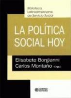 LA POLITICA SOCIAL HOY