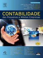 CONTABILIDADE DAS PEQUENAS E MEDIAS EMPRESAS