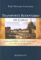 TRANSPORTE RODOVIARIO DE CARGA