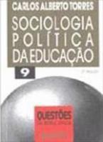 SOCIOLOGIA POLITICA DA EDUCACAO