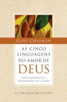 CINCO LINGUAGENS DO AMOR DE DEUS