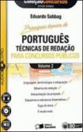PORTUGUES - V. 02 - PARA CONCURSOS PUBLICOS - TECN