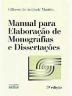 MANUAL PARA ELABORACAO DE MONOGRAFIAS E DISSERTACO