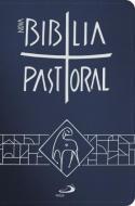 NOVA BIBLIA PASTORAL - ZIPER - AZUL ESCURO