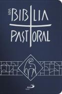 NOVA BIBLIA PASTORAL - BOLSO ZIPER AZUL ESCURO